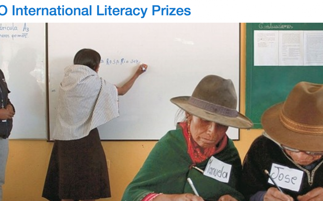 Global Sleepover Nominated for UNESCO International Literacy Prize